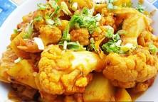 Aloo Gobi – Potato Cauliflower – Masala Curry