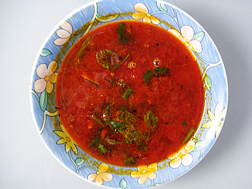 Beetroot Rasam – South Indian Spicy Soup