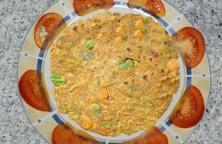 Carrot Green Peas Paratha – Veg Flatbread