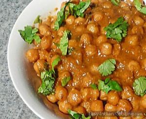 Chana Chole Masala – Chickpeas Curry