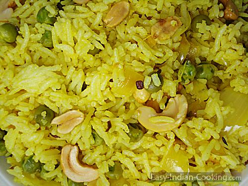 Lemon Rice – South Indian Variety Rice