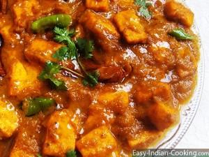 Paneer Masala – Indian Fresh Cheese Curry