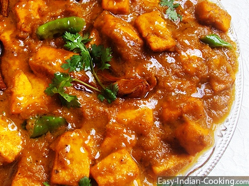 Paneer Masala – Indian Fresh Cheese Curry