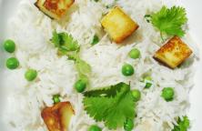 Paneer Peas Pulao – Basmati Rice Pulav
